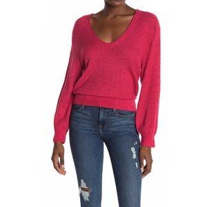 Abound V-Neck Boucle Knit Sweater